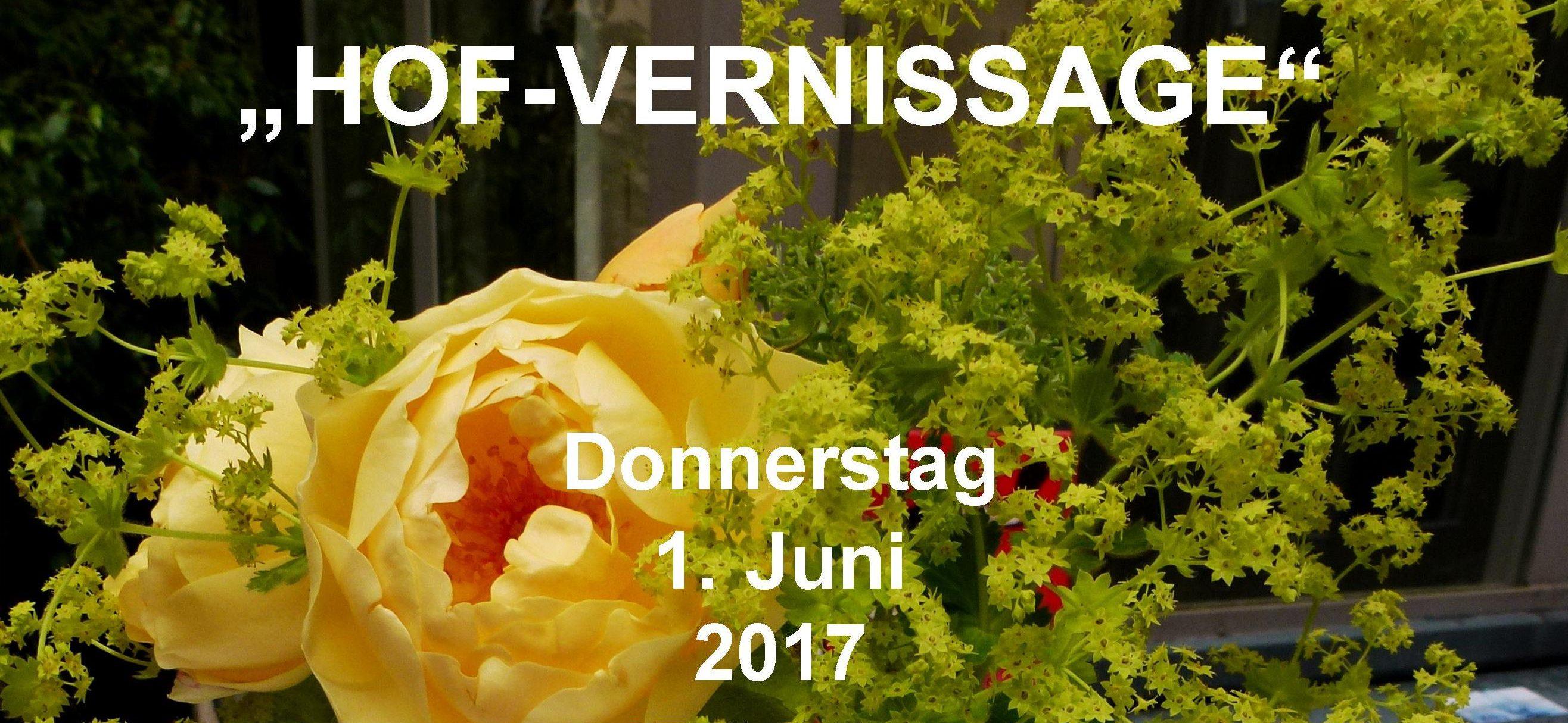 Einladung HOF Vernissage 2017