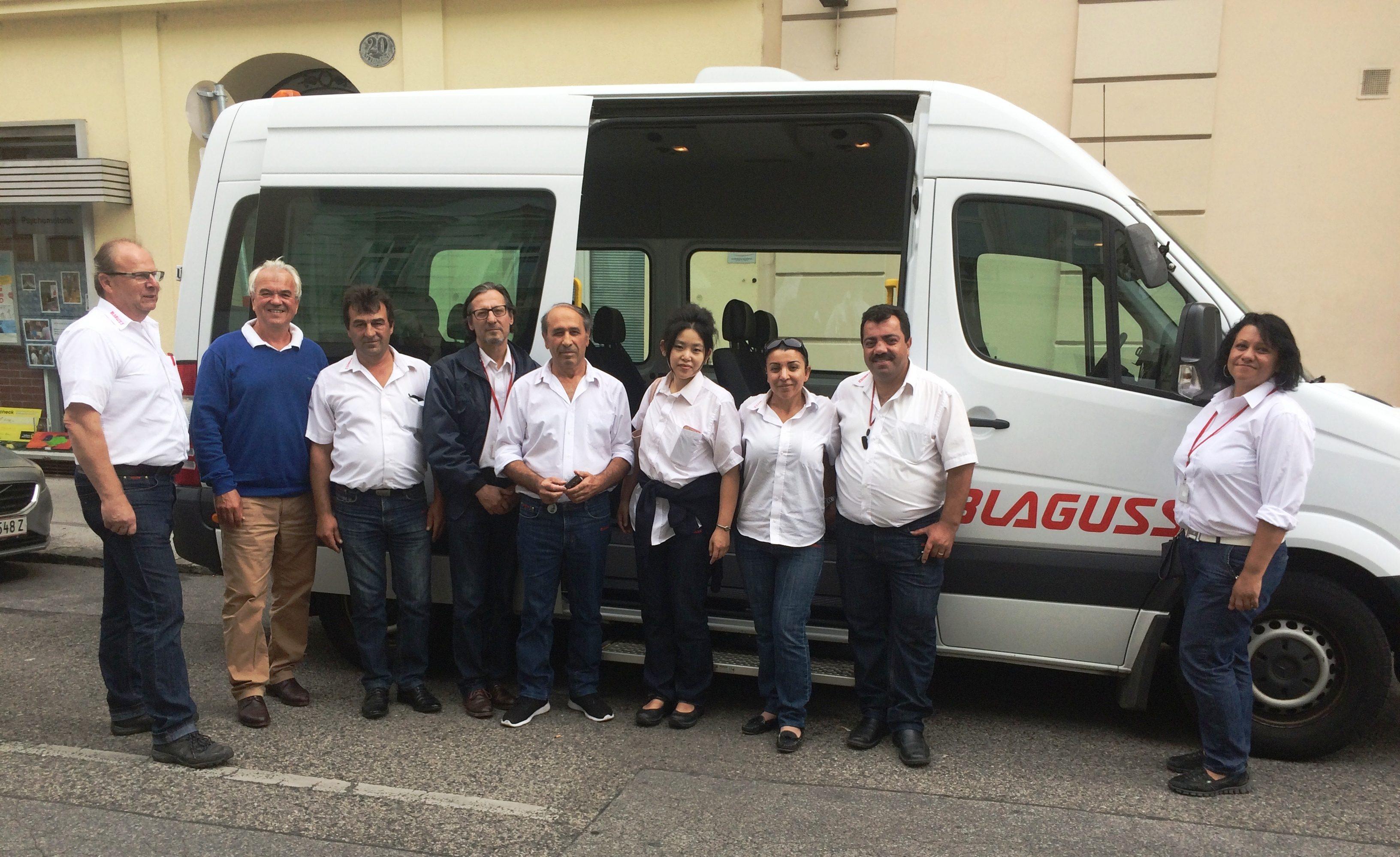 Blaguss als Partner im Mobilitätskonzept